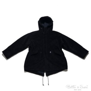 <img class='new_mark_img1' src='//img.shop-pro.jp/img/new/icons20.gif' style='border:none;display:inline;margin:0px;padding:0px;width:auto;' />50%OFF SEASONING MOD'S COAT BLACK シーズニング モッズコート ブラック