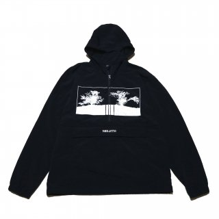 """SIBLETH -OFFICIAL BOOTLEG CTLG 06- """"TREES"""" NYLON ANORAK PARKA"""