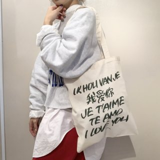 【SALE】Lee Izumida .cvs トートバッグ【 I LOVE YOU】