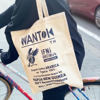 EVCON×IFNi ROASTING & CO. WANTOK TOTE BAG