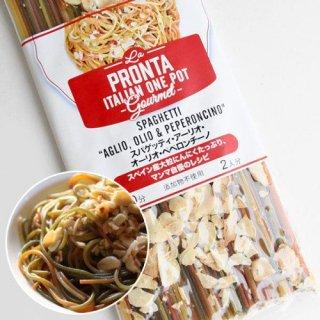 ラ・プロンタ アーリオ・オーリオ・ペペロンチーノのスパゲッティ
