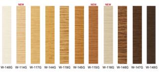 W-114G〜W-148G サンゲツ ガード巾木(木目調)
