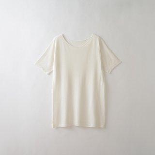 レディース無縫製半袖インナー