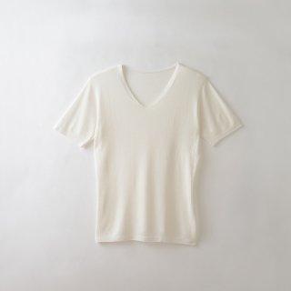 メンズ無縫製半袖インナー