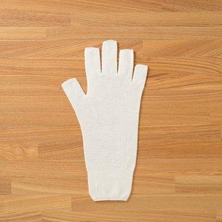 無縫製ガーゼ指出し手袋L