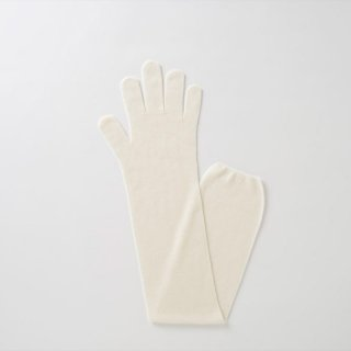 無縫製ガーゼロング手袋S