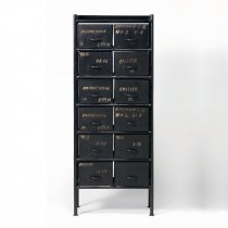 GUIDEL 12 DRAWERS CHEST (ギデル 12 ドロワーズ チェスト)/JSF(E)
